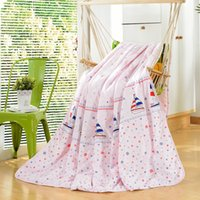 Wholesale Polyester Quilted Comforter Cartoon Summer Air conditioning Quilt HB003