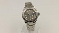analog titanium - luxury Men s style Stainless Steel Green Titanium color Watch Model