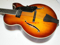 Wholesale New Arrival New Arrival Strings Hollow Jazz Electric Guitar VS Sunburst Top Musical instruments