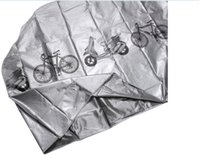 bicycle rain cover - Grey Bicycle bike Cycling Rain and Dust Protector Cover Waterproof Protection Garage H8095