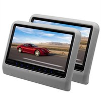 best headrest dvd - best quality Inch Car Headrest Monitor With x480 Screen Built in Speaker Support USB SD DVD Player Games Remote Control