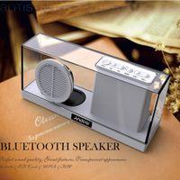 Wholesale Andoer SDY033 in Multifunctional Wireless Bluetooth Stereo Speaker with Mic Resonator FM Radio LED Display mm Audio Jack