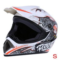 Wholesale WLT Safe Full Face Motocross Dirt Bike Racing Helmet Breathable Motorbike Mask S M L XL with Adjustable Lock Buckle