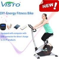 Wholesale Self Generation fitness equipment Magnetic Bike elliptical bike recumbent bike