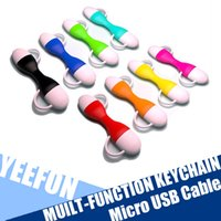 best usb keychain - Micro USB Cable Multi function keychain BEST Quality USB Cable Data Sync Charger Cable Retractable USB OTG Cable Of Key Ring Cable