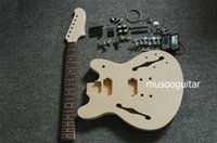 Wholesale PROJECT ELECTRIC GUITAR BUILDER KIT DIY WITH ALL ACCESSORIES