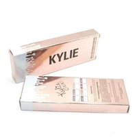 Wholesale NEW Kylie Cosmetics by Kylie jenner Velvetine Matte Lipstick Lip Pencil color with Pink Box