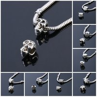 Wholesale Beads Charms Fashion Perles Jewelry Silver Plated Cute Bead Bijoux Beads Fit Diy Pandora Charms Bracelet diy Beads