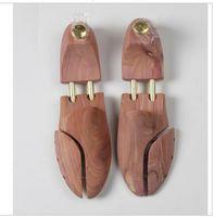 Wholesale factory direct offer Tube Red Cedar Wood Adjustable Shoe Shaper Shoe Tree