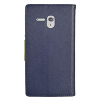 alcatel one touch - PU Leather Wallet Case Card Slots Folio Wallet for Alcatel Stellar Tru One Touch Idol Alcatel Dawn Fierce Pop