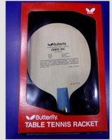 Wholesale 2pcs Butterfly CHINESE REAL Table Tennis Blade Table Tennis Racket BEST
