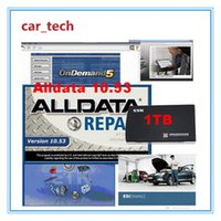Wholesale DHL Free Newest Car Repair Software Alldata M itchell on demand Vivid so on in1 Software in TB HDD