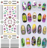 art seals - DS summer sea water transfer hot series nail art stickers new designs water seal stamping