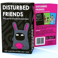 Wholesale Disturbed Friends This game should be banned Amusement Toys Party Card game Board Game in high quality