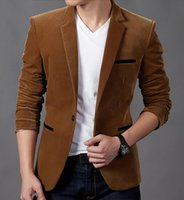 Wholesale New Hot Good Selling Boys Males Men Spring Winter Casual Fashion Slim Suits Blazers Clothes