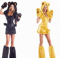 bear costumes for adults - Best Seller Disfraz Mujer Halloween Costumes For Women Sexy Cosplay Adult Bear Costume Stage Cosplay Little Devil Costumes CE291