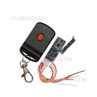 Wholesale 12V CH Max Load V A Mini Size mm Wireless Switch Receiver Board With Remote Control Working Way Momentary