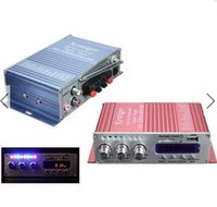 Wholesale Mini Power Amplifier HiFi Stereo MP3 FM Audio Music AMP for Car Motorcycle
