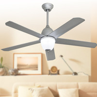 Wholesale Best selling ceiling fans lights modern simple style inch cm blade ABS fans remote control indoor led ceiling fans V V