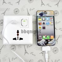 Wholesale New Home Wall Power Supply USB Socket Switch with USB Port Interface White