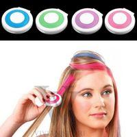 Wholesale New Fashion color Set Hair Chalk Powder European Hair Color Temporary Pastel Hair Dye Color Paint Soft Pastels Salon Hot Sale