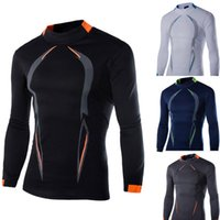 Wholesale new hot men outdoor hiking shirt quick dry fishing shirts running bicycle fitness long sleeve quick drying t shirt M XXL