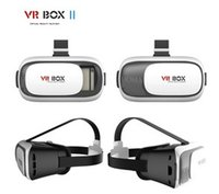 Wholesale Hot D Glasses Type vr box II VR BOX virtual reality D Viedo Glasses for Smartphone