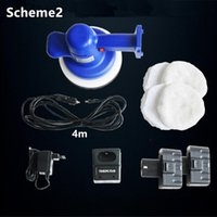 Wholesale 12V Electric Rechargeable Car Polisher inch DC Randon Orbital Automobile Waxer Buffer Multifunction mm Pad Cordless Cord Machine