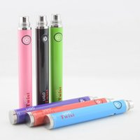 Wholesale Newest Ugo twist battery USB passthrough Variable voltage electronic cigarette battery fit all Thread CE4 MT3 Ego Atomizers