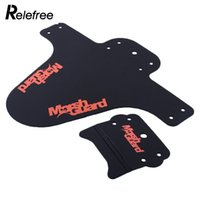 Wholesale 1X Bike Cycling Bicycle Black MTB Good Selling Fender Front Mudguard For Mountain Hot Sale Drop Shipping