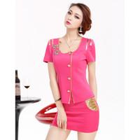 airline uniform design - Colors New Design Skirt Uniform For Women Fit Work Wear For Office Ladies Fashion Airline Uniform Skirt Suit
