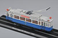 atlas autos - Miniature Model Train Scale Atlas Tram Blauwe Wagen Beijnes Diecast Tram Model Auto Train Toys Collection Gift