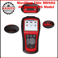 abs airbag sale - 100 Original autel maxidiag elite md802 all system DS model Car Scanner ABS Airbag Oil Service Reset autel md scanner hot sales