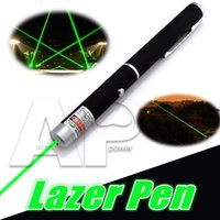 Wholesale 5mW nm Green Light Powerful Green Laser Pointer Pen Beam Light High Power Puntero Laser Lazer OPP Package
