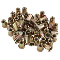 Wholesale M8 Flat Head Galvanization Rivet Nut for Instruments Accessories package Of