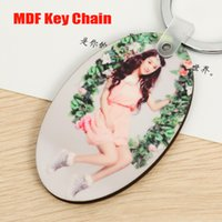 best blanks sublimation - White Blank MDF Key Chains For Sublimation Wooden Key Rings for Heat transfer as best gift for Lover cm