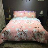 ab bedding set - 100 cotton with reavrive printing four pieses bedding set hometextile AB panterns