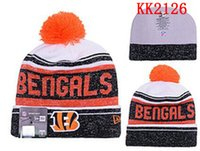 bengals hats - Cincinnati Football Bengals beanies Team Hat Winter Caps Popular Beanie Caps Skull Caps Best Quality Sports Caps Allow Mix Order