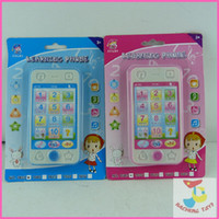 Wholesale Children s toys educational simulationp music mobile phone G the latest version of Russian language Baby phone
