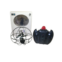 Wholesale RC Helicopter UFO Aircraft Remote Control Fly Ball Ruggedness with Gyroscop