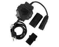 Wholesale High Quality Wireless For ICOM Version Pins PTT Element Tactical FM Headest Accessory PTT Adaptor Control Unit