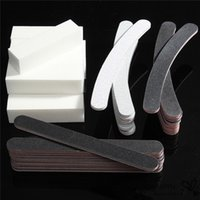 Wholesale 1 Set Professional Nail Art Tips Sanding Buffer Shiner Polish Acrylic Block Manicure Pedicure Gel Care Files Tools