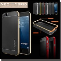 armor covers - NEO Hybrid SGP Bumblebee TPU PC Cover Heavy Duty Rugged Armor Hard Case For iPhone Plus S Galaxy S7 S6 Note Free Ship MOQ