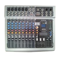 audio input mixer - 10 channels Professional Power Mixing console With USB MP3 input DJ mixer pro audio equipment
