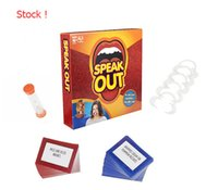 Wholesale Stock Speak Out Game KTV party newest best selling toy Speaking Out Set
