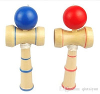 Wholesale Kendama Ball Game ball skills Funny Japanese Traditional Wood Game Toy Kendama Ball Education Gift New A2 B148