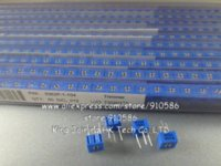 al por mayor 100k resistor-Trimming Potenciómetro 3362P 100K 104 Resistencias del condensador de ajuste 3362 Resistencias variables 100K ohmios 100pcs resistor 5w resistor 500w