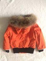 Wholesale Coat Winter Kids Boy - ME8 Baby Luxury Brand Winter Jacket Kids Outwear Real Raccoon Fur Collar snow coat children parka for boys and girls