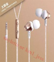 big ears microphone - hot mm Big Bass Metal earphones Headset In Ear with Mic For Iphone Ipad Samsung PC MID MP3 M