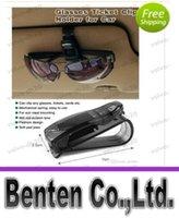 Wholesale Mini Protable S shape Car Sunglasses Clip Holder DRAGON Glasses Ticket Clip Car Holder LLFA88
